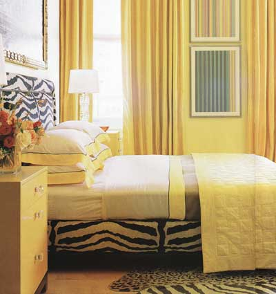 What goes well with yellow walls? | Yahoo Answers