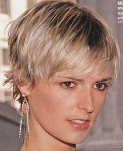 Short trendy hairstyles 2009 picture