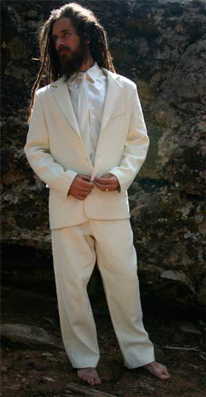 Black and White Suits for Men