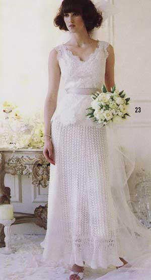 Knitted Wedding Dresses Nibs