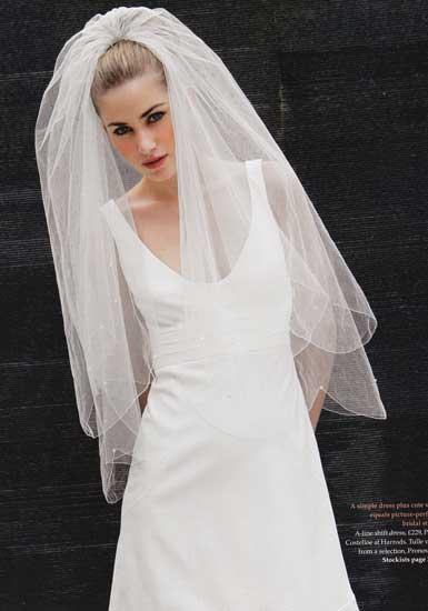 Then Amp Now Wedding Veils Nibs