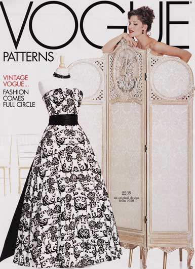 Vogue Patterns 1086 from Vogue Patterns patterns is a MISSES