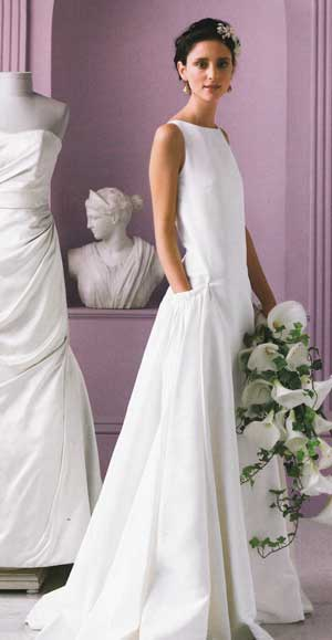 Then&Now: Bridal Gowns With Pockets | NIBS