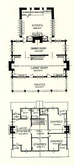gustav stickley house plans