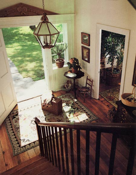 Country Home Foyers : Country entrance foyers entryways mudrooms laundry
