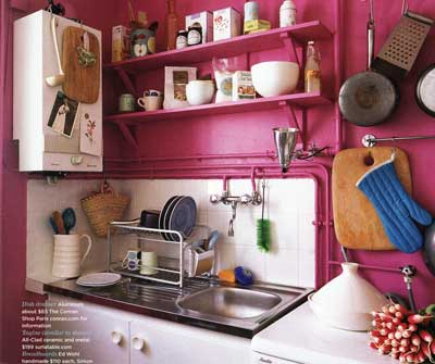 decorating small apartment. Kitchen- Small kitchens like