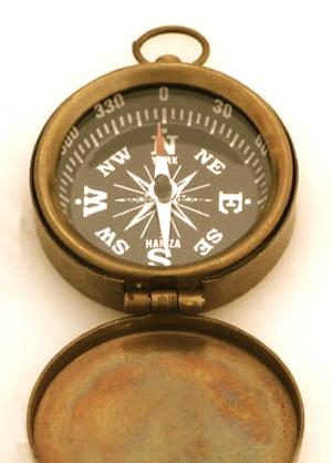 antique-brass-compass