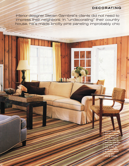 Living Room Wood Paneling Makeover: StyleFiles