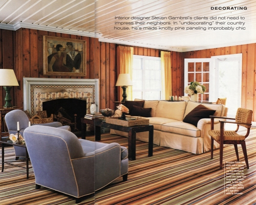 Stylefile 10 pine paneling is making a comeback nibs Curtains for wood paneled room