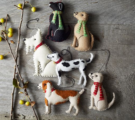 west-elm-dog-ornaments-opt - Christmas Craft #10: Dog Ornament NIBS
