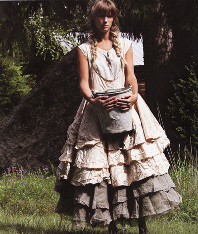 юбки в стиле бохо.