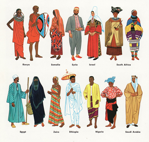 Fashion Style In Different Countries