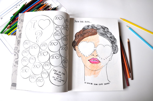 available at anthropologie - Fashion Coloring Books