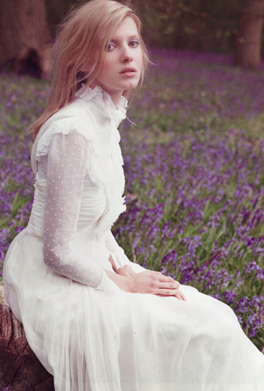 Victorian inspired wedding dresses nibs for Vintage victorian wedding dresses