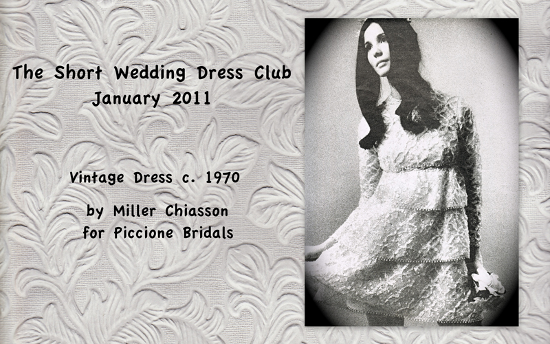 The Short Wedding Dress Club December 2010