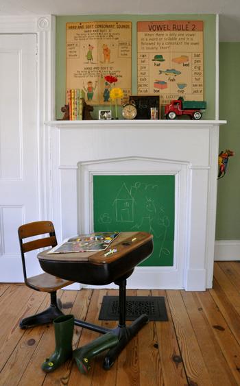 fireplace shelf design