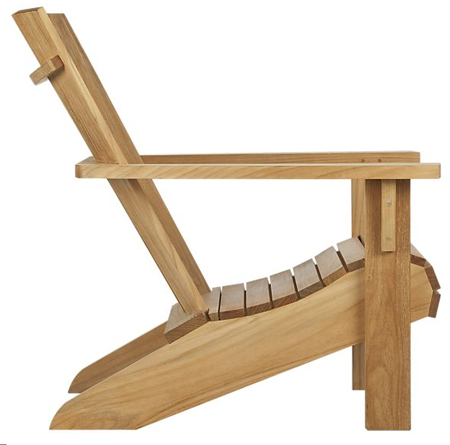 Free Adirondack Chair Design Simple PDF Woodworking Plans Online