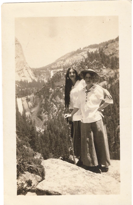 2 women at sierra point