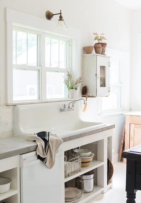 opt-vintage-whites-blog-concrete-countertops-farmhouse-sink